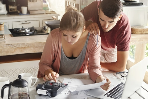 Debt and buying a home
